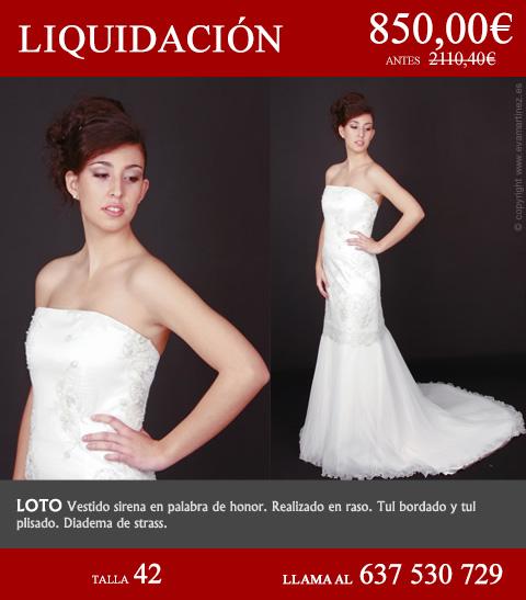 vestidos de novia, ceremonia y fiesta - eva martinez